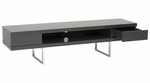 Miranda 63'' X 16'' Media Stand in Gray [09819GRY-FS-ERS]