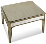 Mirrored Square Cocktail Table [8311-130EC-FS-BSTM]