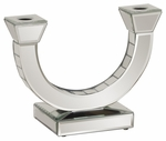 Mirrored ''U''-Shape Candleholder [11126-FS-HEC]