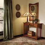 Mission Oak Console and Mirror [993-289T2-FS-PO]