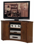 kathy ireland Home™ Mission Pasadena Collection 51''W x 30''H Corner TV Console [MP351-FS-KIMF]