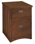 kathy ireland Home™ Mission Pasadena Collection 21.25''W x 29''H Two Drawer File [MP201-FS-KIMF]