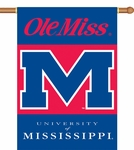 Mississippi Rebels 2-Sided 28'' X 40'' Banner with Pole Sleeve [96016-FS-BSI]