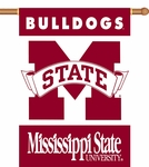 Mississippi State Bulldogs 2-Sided 28'' X 40'' Banner with Pole Sleeve [96021-FS-BSI]