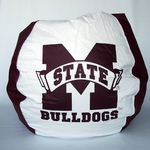 Mississippi State Bulldogs Bean Bag Chair [BB-40-MSST-FS-BBB]