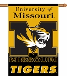 Missouri Tigers 2-Sided 28'' X 40'' Banner with Pole Sleeve [96043-FS-BSI]