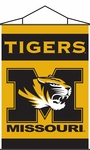 Missouri Tigers Indoor Banner Scroll [87043-FS-BSI]