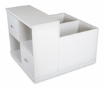 Mobby Mobile Storage Unit Pure White