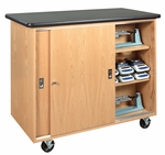 Mobile Balance Science Storage Cabinet [5201K-DW]
