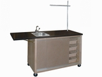 Mobile Demo Bench - Chemsurf Top [BC-2464C-HNN]