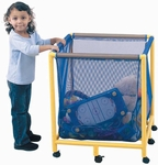 Mobile Equipment / Toy Box ( Square ) - 25''L x 25''W x 29''H [CF905-064-FS-CHF]