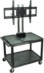 Mobile Flat Panel TV Cart [WPTV28E-HW]