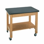 Mobile Science Lab Demo Cart with Plastic Laminate Top [4501K-DW]