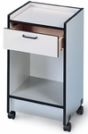 Mobile Smart Cart with Drawer - 18.5''W X 18.5''L X 30''H [HAU-9029-8-FS-HAUS]