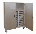 Mobile Tote Tray Storage Unit [SC-230TTM-HNN]