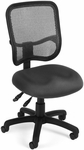 Mesh Comfort Ergonomic Task Chair - Gray [130-A01-FS-MFO]