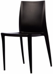 Bella Resin Polypropylene Stackable Event Chair - Black [RPP-BELLA-BLACK-CSP]