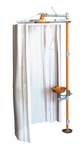 Modesty Curtain for Horizontal Showers and Stations [AP250-015-GE]