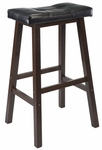 Mona 29''H Saddle Seat Bar Stool [94069-FS-WWT]