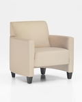 Monaco Contemporary Side Chair - Buff Simulated Leather [CD001105B5080-FS-DMI]