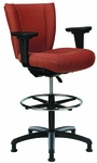 Monterey II 300 Series Small Back Single Shift Adjustable Swivel and Seat Height Stool [MO222-M20-FS-SEA]