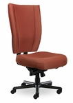 Monterey II 550 Series High Back Multiple Shift Multi Lcok Swivel Tilt Task Chair with 550 lb Weight Capacity [MO510-Q51-FS-SEA]