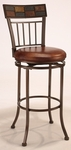 Montero Bar Stool - Brown Vinyl [4266-830-FS-HILL]