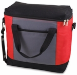 Montero Cooler Tote - Red and Gray and Black [604-00-100-000-0-FS-PNT]