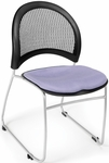 Moon Stack Chair with Fabric Seat Cushion - Lavender [335-2202-MFO]