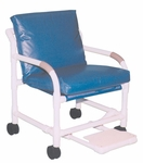 MRI Compatible Transfer Chair with Footrest and Casters [509-MRI-MJM]