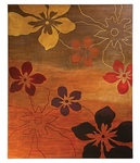 Multi-Colored Pansy Wall Art [14181-FS-HEC]