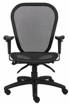 Multi - Function Mesh Task Chair with 3 Paddle Tilting Mechanism - Black [B6018-FS-BOSS]