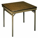 Customizable Multi-Purpose Card Table - 30''H [ML-36-E-BKS]