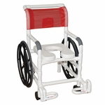 Multi-Purpose Self Propelled Wheel Chair with Casters- 29''W X 33''D X 40''H [131-18-24W-IF-MJM]
