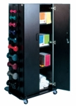 Multi-Purpose Weight / Storage Rack with Accessories - 30''W X 24''L X 61''H [HAU-5569-100-FS-HAUS]