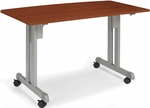 23.75'' D x 47.25'' W Multi-Use Modular Table - Cherry Finish [55111-CHY-FS-MFO]