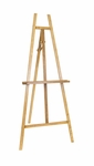 Museum Adjustable Angle 62.25''H Tall Art Easel - Natural [13216-FS-SDI]
