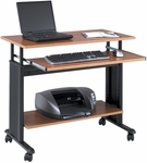 Muv™ 35.5'' Adjustable Height Workstation - Cherry [1926CY-FS-SAF]