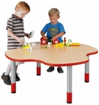 My Place 14''H Clover Round Activity Play Table [9434R-TOT]