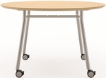 Mystic Series 36'' Round Conference Table with Casters [S1936Q4-FS-RO]