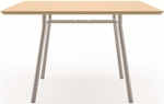 Mystic Series 48'' Square Conference Table [S1748R4-FS-RO]