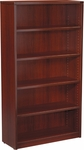 OSP Furniture Napa 5-Shelf Bookcase - Mahogony [NAP-56-MAH-FS-OS]