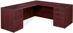 OSP Furniture Napa Scratch Resistant 66'' L-Shaped Desk [NAPTYP9-FS-OS]