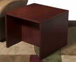 OSP Furniture Napa End Table - Mahogany [NAP-20-MAH-FS-OS]
