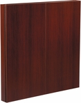 OSP Furniture Napa Presentation Board - Mahogany [NAP-100-MAH-FS-OS]