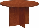 OSP Furniture Napa Round Conference Table - Cherry [NAP-27-CHY-FS-OS]