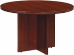 OSP Furniture Napa Round Conference Table - Mahogany [NAP-27-MAH-FS-OS]