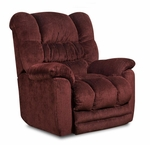 Napa Power Recliner - Temptation Merlot [189560-6451-PWR-FS-CHEL]