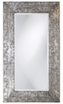 Napier Brushed Silver Mirror [1980-FS-HEC]