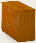Napoli and Corsica Lateral File - Golden Cherry on Beech Veneer [VLFGCH-FS-MAY]